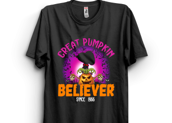 Halloween 29 graphic t-shirt design