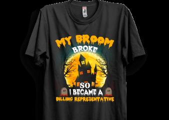 Halloween 35 t shirt design for sale