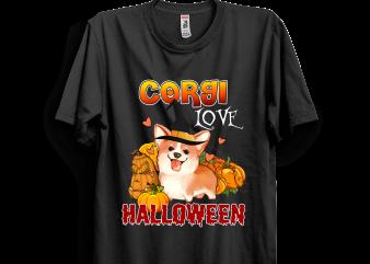Halloween 7 graphic t-shirt design