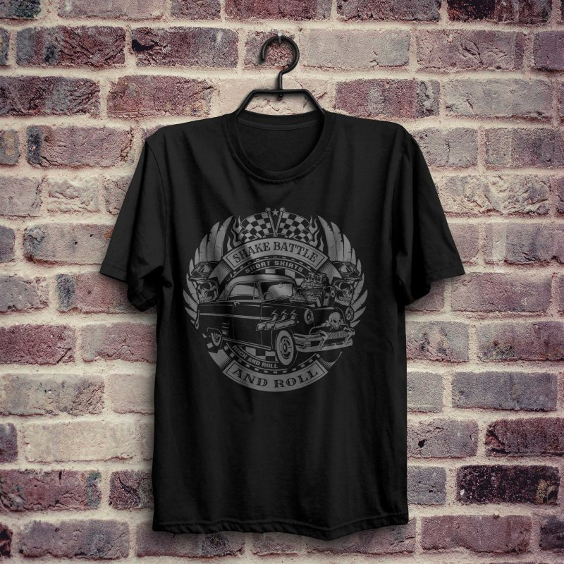 Pretty Cool Dad Old School Shirt vector t shirt designs for merch teespring and printful