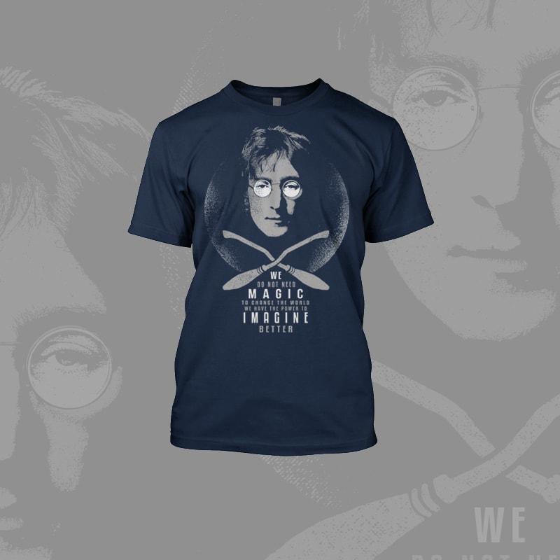 Johny Potter tshirt design for merch by amazon