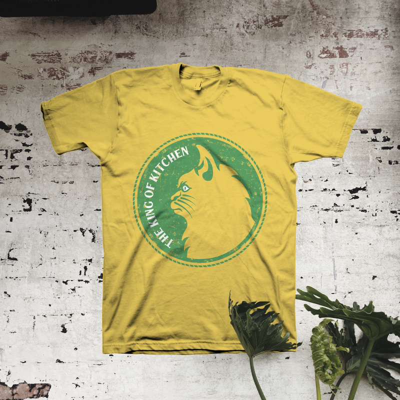 The King of Kitchen t shirt design png