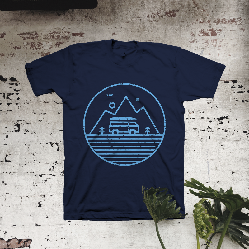 Line Adventure t shirt designs for sale