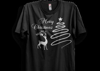 Merry Christmas Indeer Tshirt