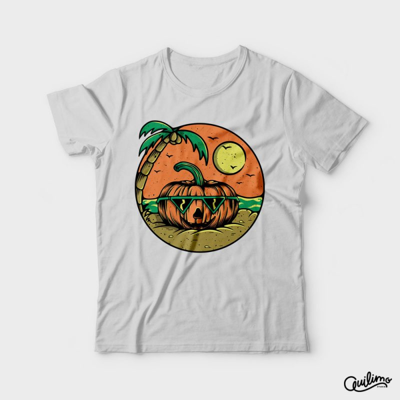 Pumpkin Summer tshirt designs for merch by amazon
