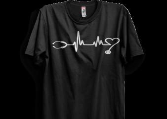 Nurse design for t shirt