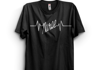 Nurse Heartbeat Shirt Doctor Pharmacist