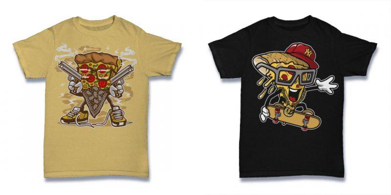 Cartoon tshirt designs