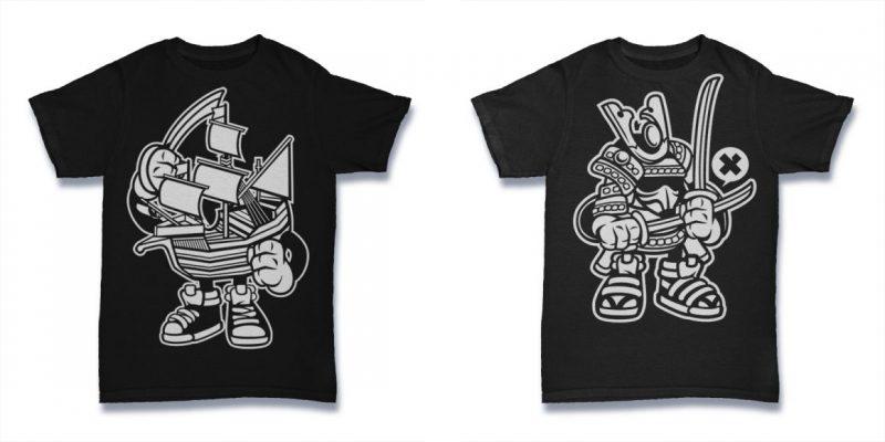 Cartoon t shirt designs