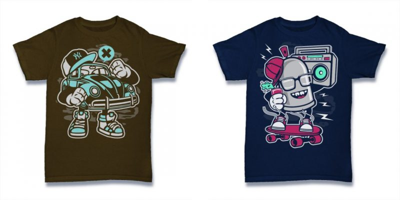 vector t shirt designs