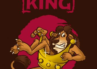 THE KING t shirt designs for sale