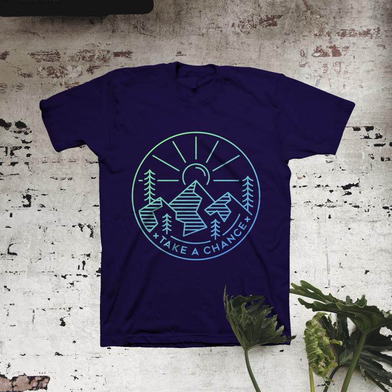 Take a Chance t shirt design png