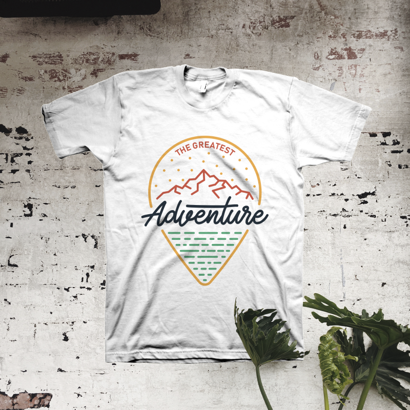 The Greatest Adventure buy tshirt design