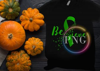Believe Be Kind Cancer Awareness T shirt design
