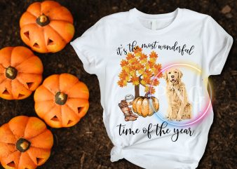 It's the most wonderful time of the year french Golden DogT shirt