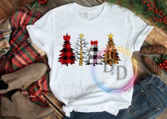 Christmas Pines Lit Tree Costume T shirt