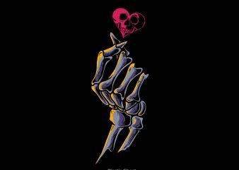 finger heart buy t shirt design