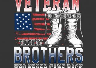 American veteran t shirt design