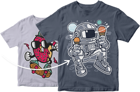 buy vector t shirt design