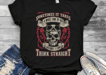 Funny Cool Skull Quote – 1013 print ready shirt design