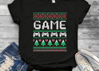 Gamer Ugly Sweater buy t shirt design artwork
