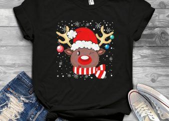 Reindeer shirt design png