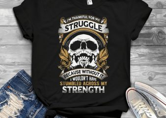 Funny Cool Skull Quote – 1061 tshirt design for sale