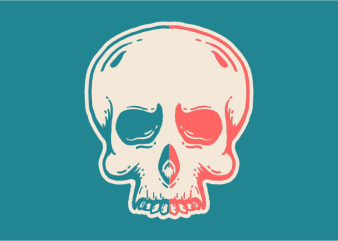 Back to Skull buy t shirt design artwork