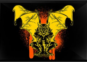 Gargoyle graphic t-shirt design
