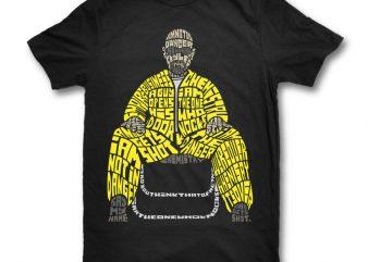 I Am The Danger t shirt design for purchase