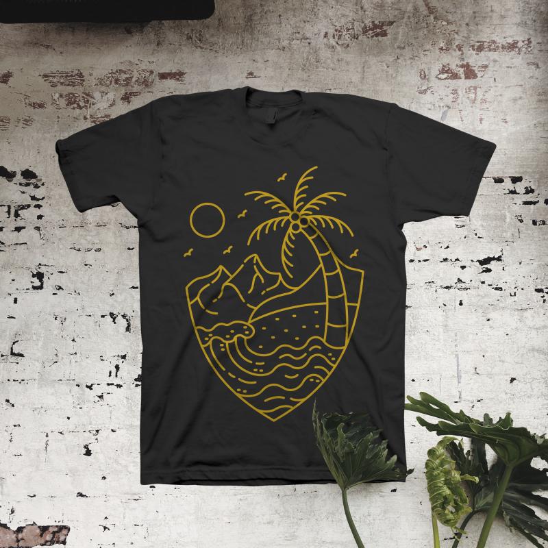 Little Pleasures t shirt design graphic