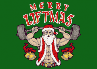 Merry Liftmas t shirt designs for sale