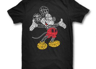 Mickey buy t shirt design artwork