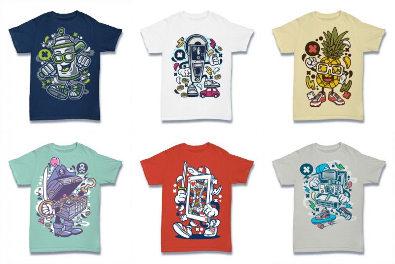 graphic Tshirt Designs Bundle