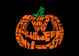 My First Halloween tshirt design for sale