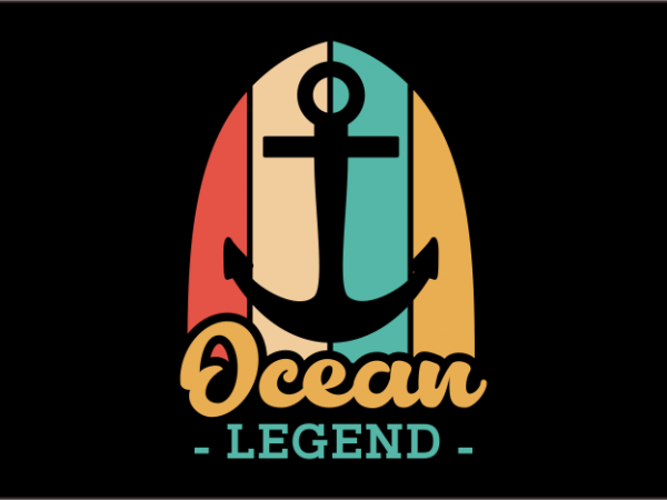 Ocean Legend t shirt design online