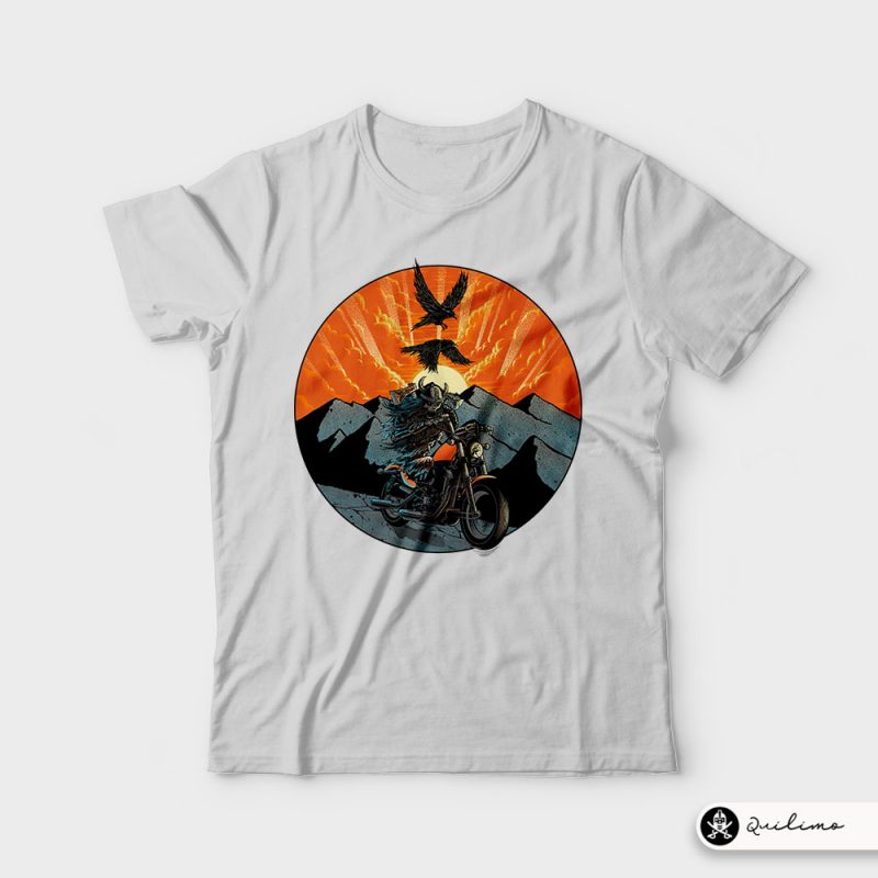Viking Rider t shirt designs for teespring