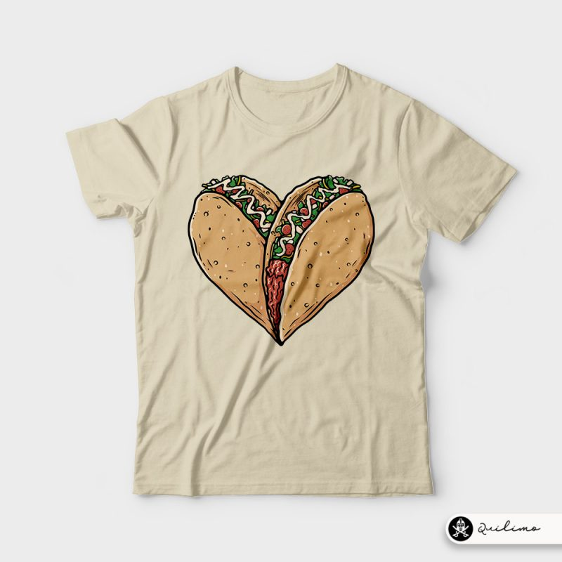 Tocos Lover t shirt designs for sale