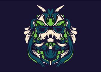 Ravina vector t-shirt design template