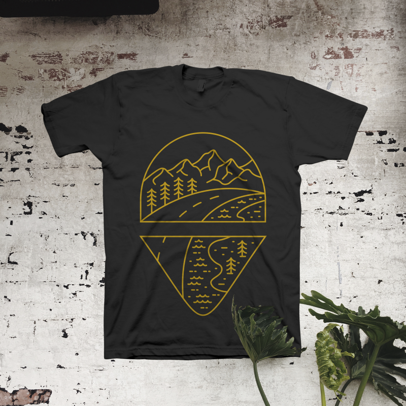 Road to Adventure commercial use t shirt designs