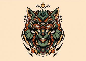 Ruba vector t-shirt design template
