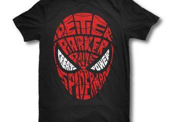 Spiderman buy t shirt design