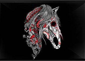 Sugar Unicorn t shirt template vector