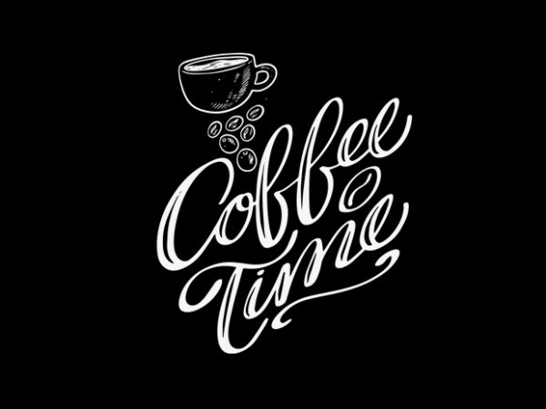 Funny coffee vector t shirt design artwork