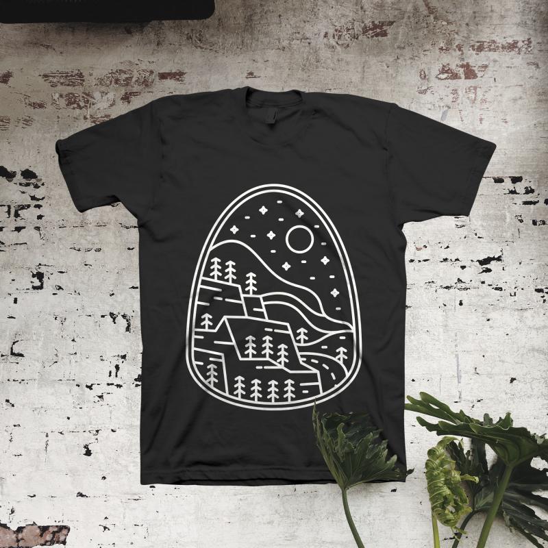 Wilderness Line buy t shirt design