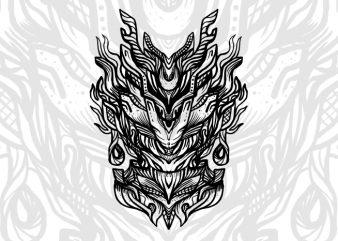 Zivon t-shirt design template