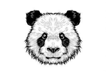 Panda Vector t-shirt de