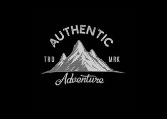 Adventure Vector t-shirt design