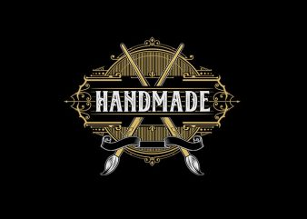 Handmade Vector t-shirt design