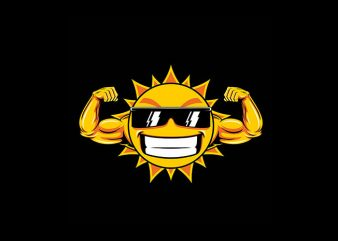 Sun Vector t-shirt design